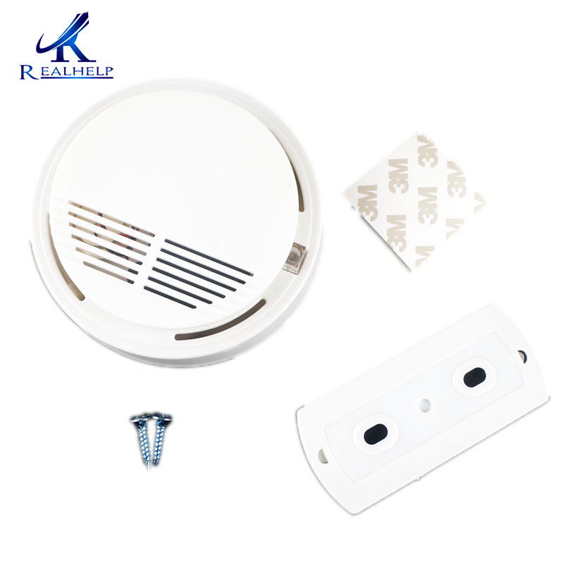 Smoke Detector Smoke Alarm Fire Detection Battery Powered First Alert Emergency Standards Fire Detection System