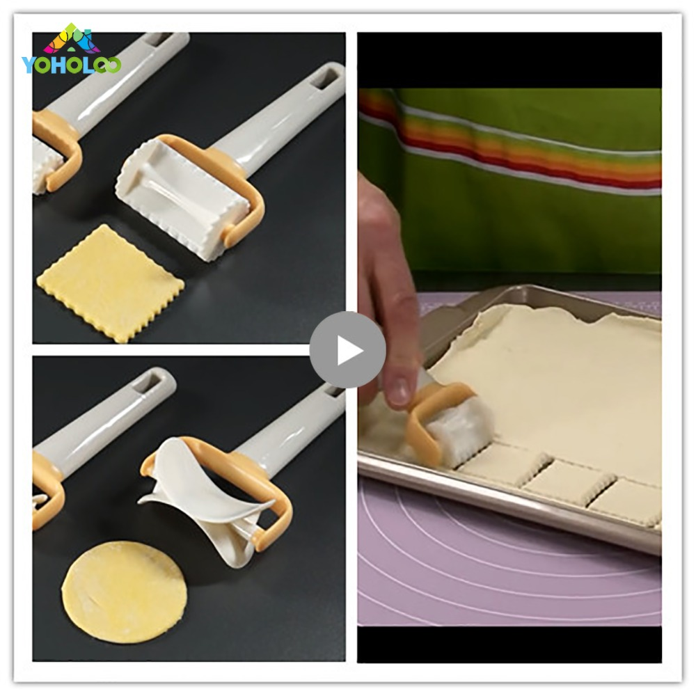 Square Fondant Cutter Mold Dumpling Mould Pastry Cutter