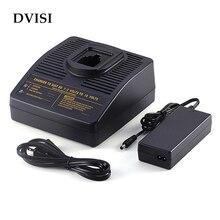 Замена электроинструментов Аккумулятор для сверла зарядное устройство для Dewalt Ni-CD Ni-MH 7,2 V до 18V подходит для DC9071 DC9091 DC9096 DW9062 DW9057