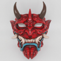 Halloween Japanese Tokyo Ghoul Buddhism Prajna Devil Mask Cosplay Party Resin Prop Gift Home Art Decoration Big Size 3 Colors