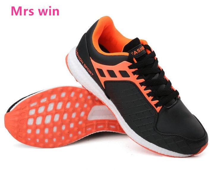 hot autumn men font b running b font shoes High quality sneakers men breathable mesh waterproof