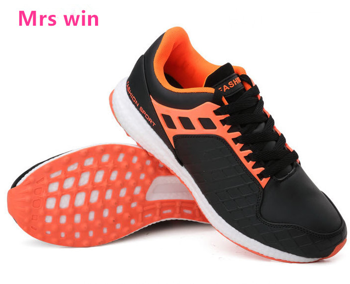 hot autumn men running shoes High quality sneakers men breathable mesh waterproof balance damping run sport shoes size 39-44