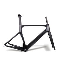 Miracle Bike AERO Road Bicycle Frame,T700 Full carbon Road Bike Frame,Best price Chinese Road Carbon Frame fork seatpost