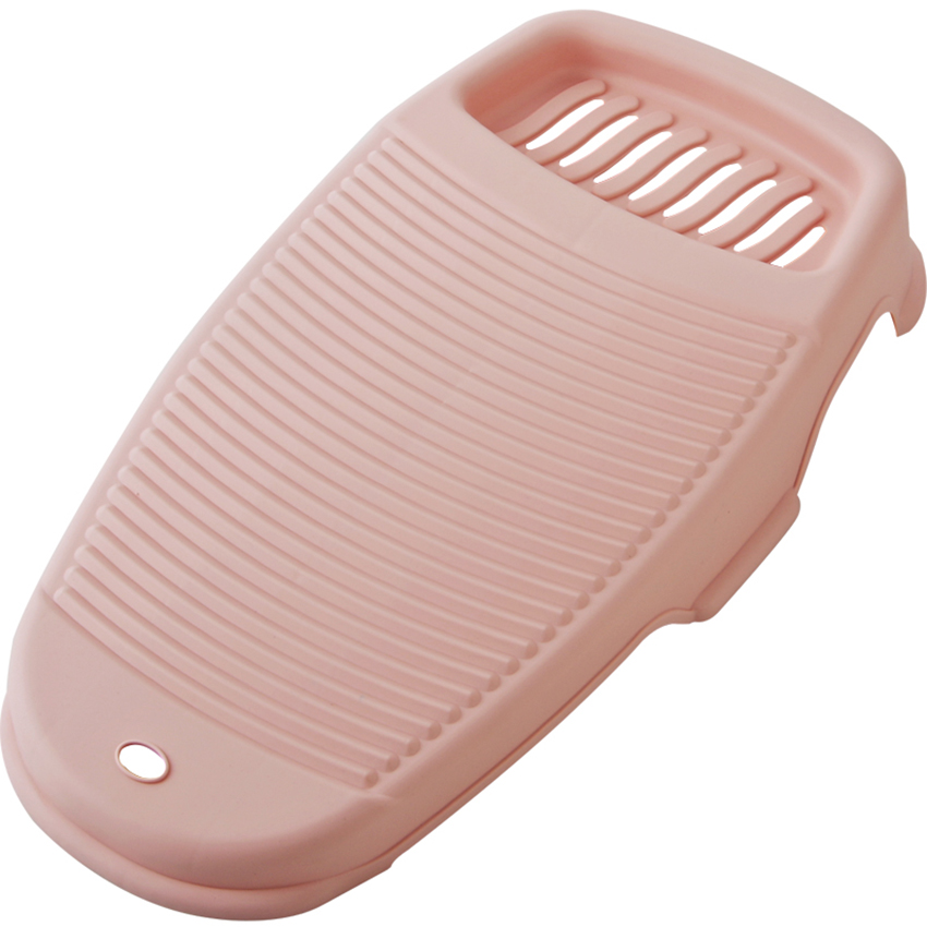 Plastic Anti-slip Travel Home Padded Washboard Hand Washing Board Shirts Cleaning Laundry Scrubboards Clothes Laundry Tub