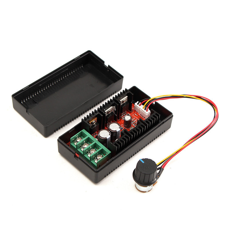 9-50V 40A DC Motor Speed Control PWM RC Controller 12V 24V 48V 2000W MAX стоимость