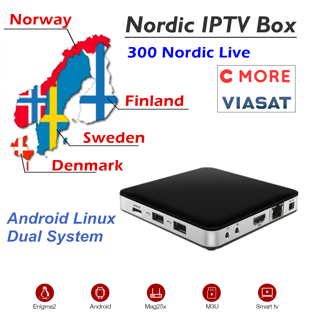 Tvip 605 Scandinavia Iptv Dual OS Android Linux OS Amlogic S905X 2 0Ghz 2 4G 5G