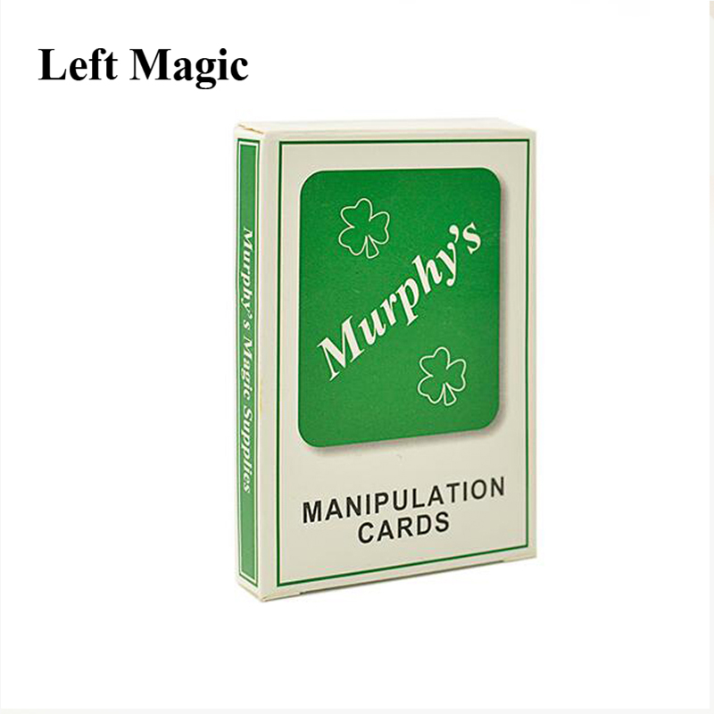 Manipulation Cards Thin Poker Magic Tricks Thin Standard Size Playing Cards Magic Joke Toy Easy To Play For Kids Party Show image