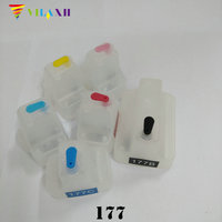 For HP 177 Refillable Ink Cartridgefor HP Photosmart 3210 3210v 3210xi 3213 3308 3310 3313 8230