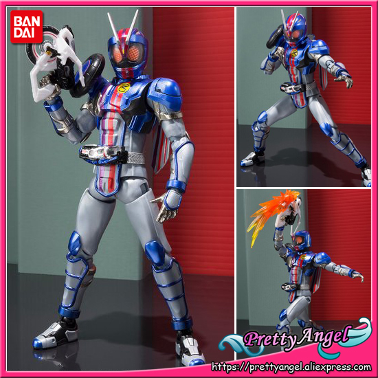 PrettyAngel   Genuine Bandai Tamashii Nations S.H.Figuarts Exclusive Kamen Rider Drive Kamen Rider Mach chaser Action Figure