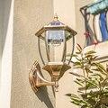 Европейский садовый настенный светильник Солнечный настенный светильник наружный IP65 защита Водонепроницаемый домашний светодиодный датч...