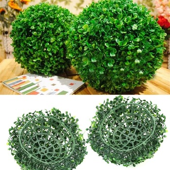 Hot Green Artificial Plant Ball Decoration Topiary Tree Boxwood Home Outdoor Wedding Party Decoration Plants Grass Ball