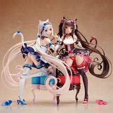Native Sexy Figure Anime Action Figure Anime Nekopara Chocola/Vanilla 1/7 Scale PVC Sexy Girl Figures Anime Figures Model Toys цена