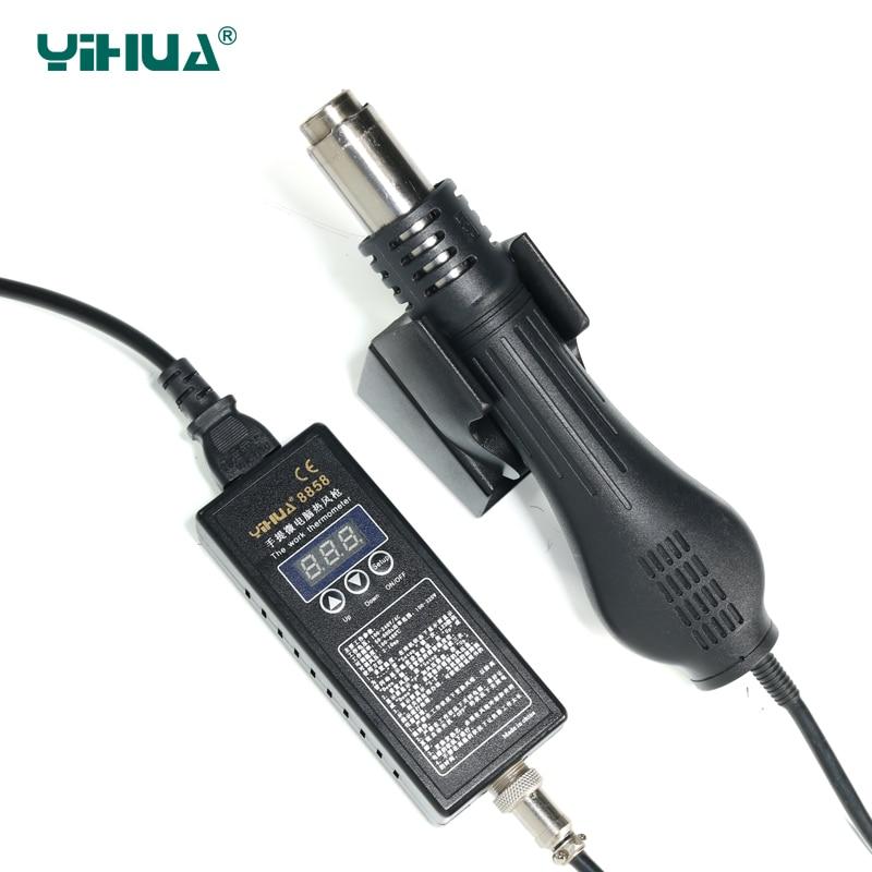 ФОТО YIHUA 8858 Portable Digital LED Bga Rework Station With Brushless Fan , 100W - 650W