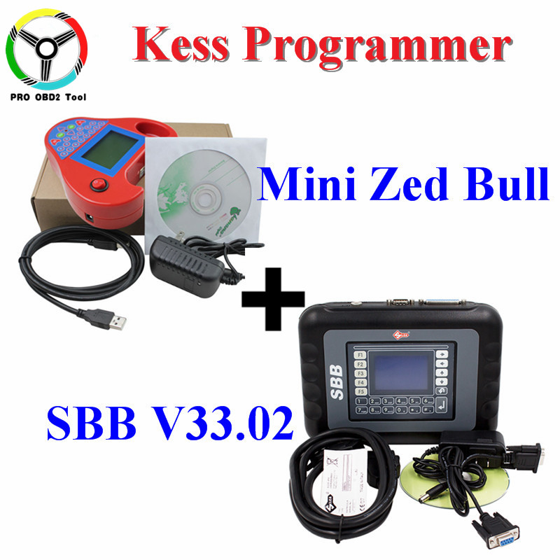 Silca SBB chiave programmatore V33.02 O V46.02 + chiave auto transponder Astuto Mini zedbull V508 No token limitato lavori Multi-Car DHLFree