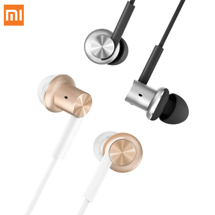 Original Xiaomi Hybrid Earphone 2 Units In-Ear HiFi Earphones Xiaomi Mi 1more Piston 4 With Mic Circle Iron Mixed Free Shipping original xiaomi xiomi mi hybrid earphone 1more design in ear multi unit piston headset hifi for smart mobile phone fon de ouvido