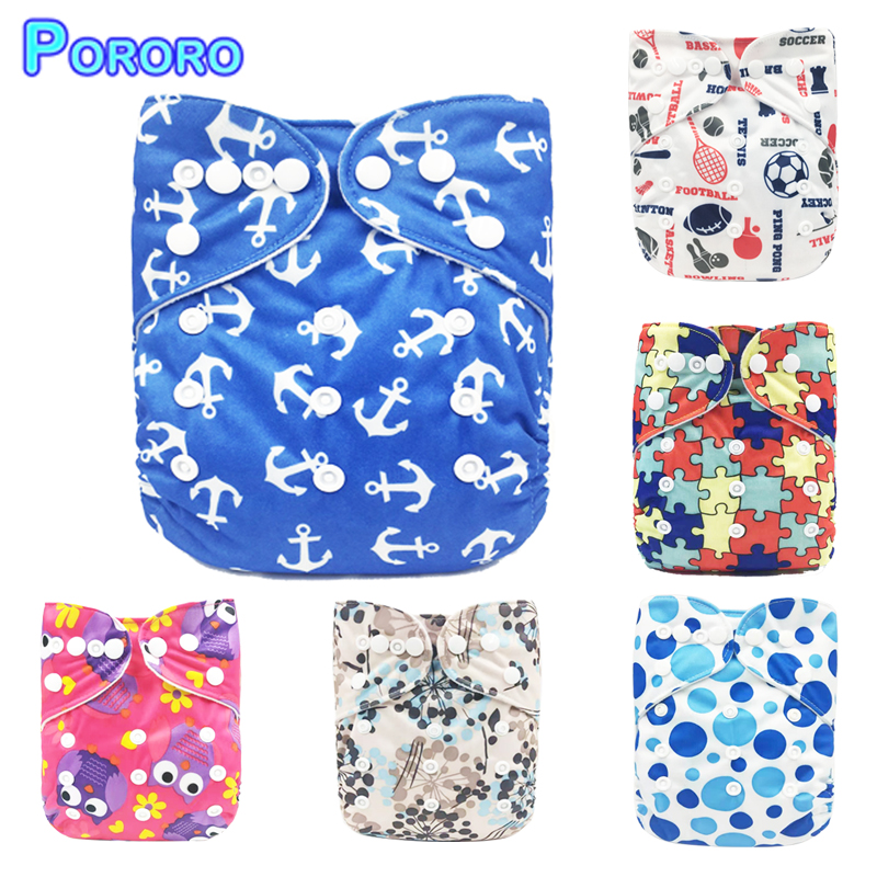[BabyShow]2019 Reusable PUL Waterproof  Nappies Newborn Diapers Baby Care Pants Baby Diapers Cover Wrap 0-2 Years 3-15kg Baby