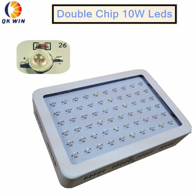 Двойной чип светодиодный светать 600 Вт 142 Вт True Мощность полный спектр для гидропони ...