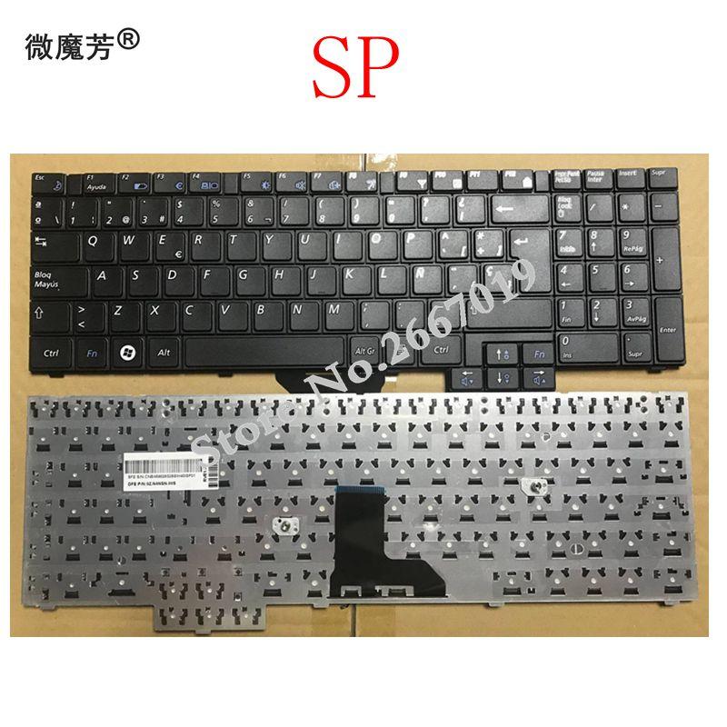 SP Clavier pour Samsung R620 R528 R530 R540 NP-R620 R525 NP-R525 R517 R523 RV508 Noir clavier dordinateur portableSP Clavier pour Samsung R620 R528 R530 R540 NP-R620 R525 NP-R525 R517 R523 RV508 Noir clavier dordinateur portable