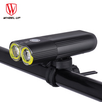 2018 USB Rechargeable 1600 Lumens Bike Light Front Handlebar Cycling LED Light Flashlight Torch Headlight Bicycle Accessories