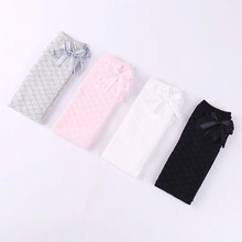 Bow Socks for Girl Knee High Long Socks Summer White Socks for Children Tiny Cottons