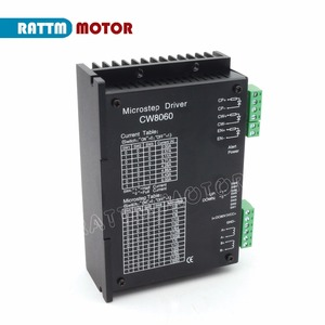 Image 3 - דה 4 ציר CNC בקר ערכת NEMA34 878oz in מנוע צעד יחיד פיר + CW8060 נהג 6A 80V/DC עבור CNC גדול גודל נתב כרסום