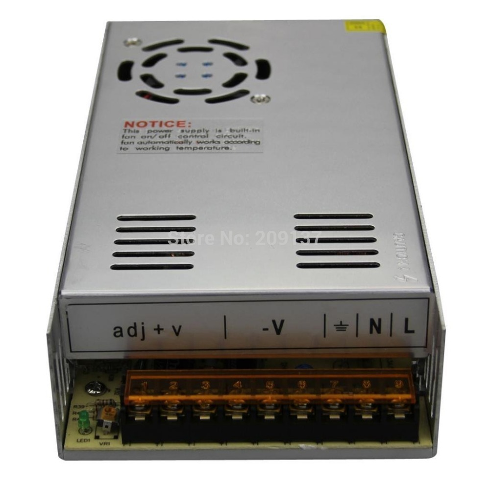 Générique 400 w 33A LED pilote de commutateur de tension constante 220 v 110 v transformateur de LED Ac 90-130 v ou 170-240 v à Dc 12 v bande de LED de sortie