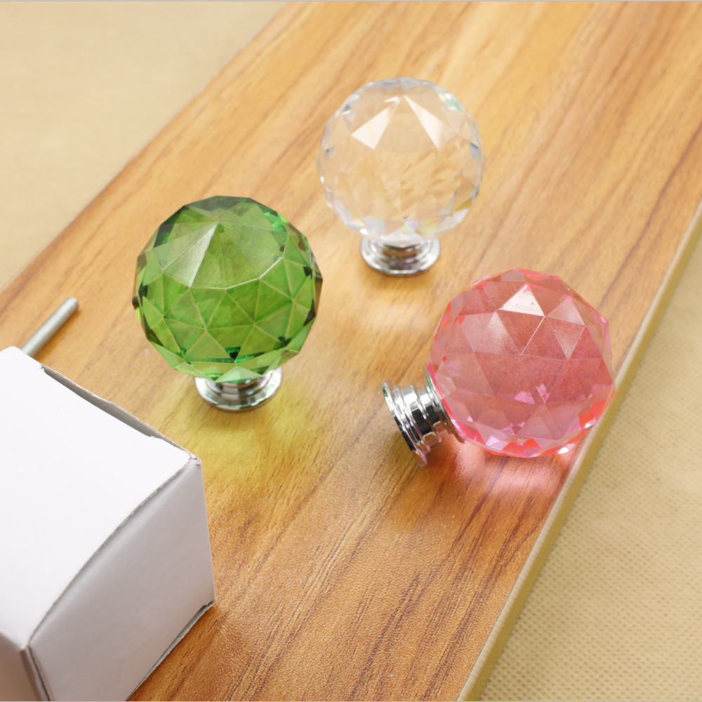 Diy Cabinet Knobs Popular Crystal Door Pulls Buy Cheap Crystal Door Pulls Lots From