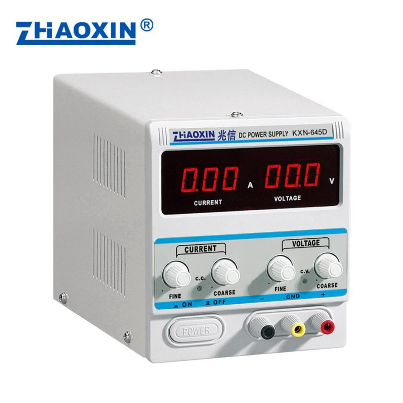 High Power DC Adjustable Switching Power Supply KXN-645D (0-64V 0-5A) 0.1V 0.01A