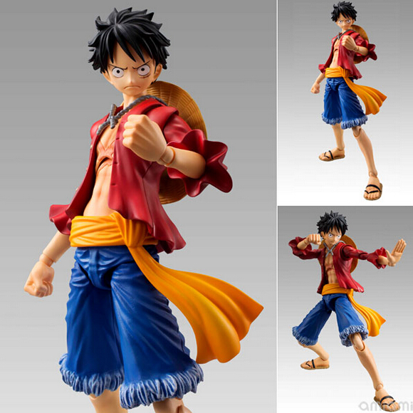 2017 new Japan anime one piece luffy Monkey D 13 joint Movable series collectible pvc action figure model toy children's 18cm