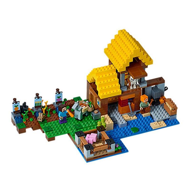 Gîte Legos Figurine Minecraft Steve À Le Vente Ferme La Village OZuPikXT