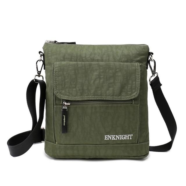 667b054cd825 ENKNIGHT Nylon Crossbody Purse Bag Travel Single Shoulder Bags-in ...