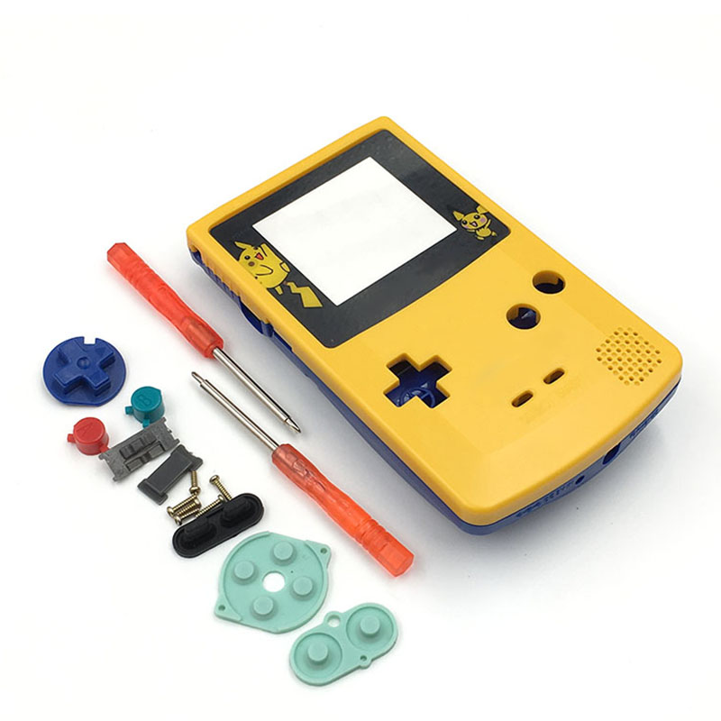 lowest price For GBC Limited Edition Shell Replacement For Gameboy Color GBC game console full housing
