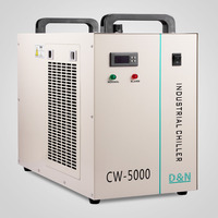 VEVOR Factory 6L Industrial Water Chiller / Water Chiller For 80W/100W CO2 Glass Laser Tube
