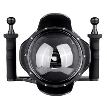 Shoot Pro 3.0 Version 6 inch Diving Underwater Handheld Stabilizer Lens Hood Dome Port for Gopro Hero 3+/4 Camera