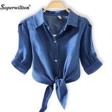 Blusa holgada informal de verano con rayas para verano, camisa tipo Kimono para mujer, con lazo, 4xl talla grande, 2020