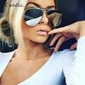 Flat Lens Brand Designer Sunglasses Women Men Mirror Sun Glasses Top Pink Stylish Metal Trend Pilot Eyewear Hot Sale