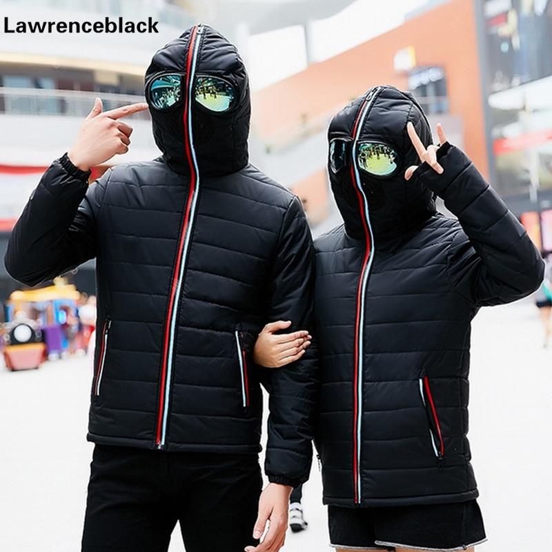 Hooded design de iarna bărbați în jos Jacket gros de căldură de - Imbracaminte barbati