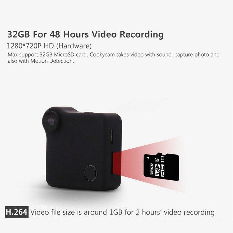 C1 Mini Camera HD 720P Cam Wifi Micro Wireless IP Camera Night Vision Sensor Video Camcorder Recorder With Magnetic Clip Camera