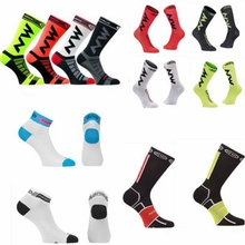 New High Quality Cycling Socks Men Women Professional Breathable Sports Bike Socks Outdoor Running Sports Socks Football Socks 2018 unisex cycling stars new cycling socks comfortable breathable men sports bikes running socks women breathable socks
