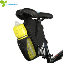 ROSWHEEL Led Bag Bicycle Bags Cycling Waterproof  Bike Saddle Accessories with Tail Light Tear Resistant Cups Bike accessories