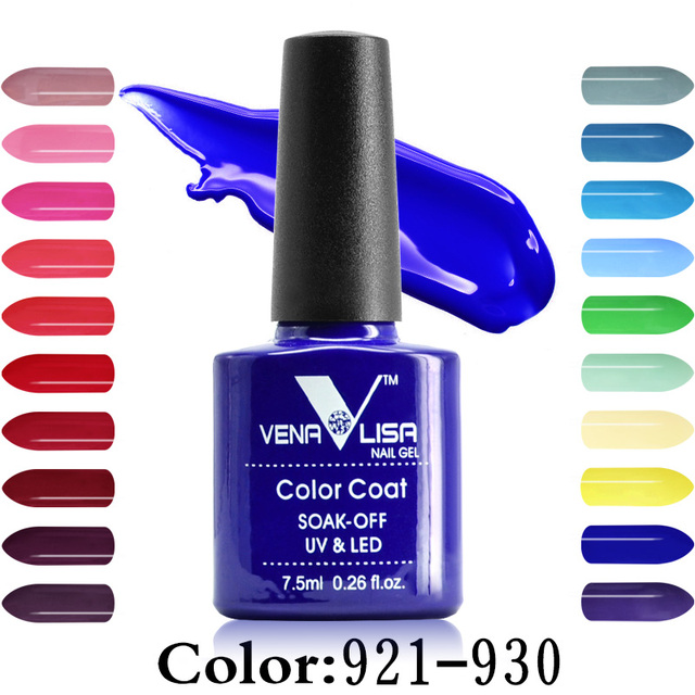 CANNI Factory Supply Venalisa 60 Colors Long Lasting Soak off Gel cured led uv lamp 7.5ml nail art gel polish uv varnish lacquer
