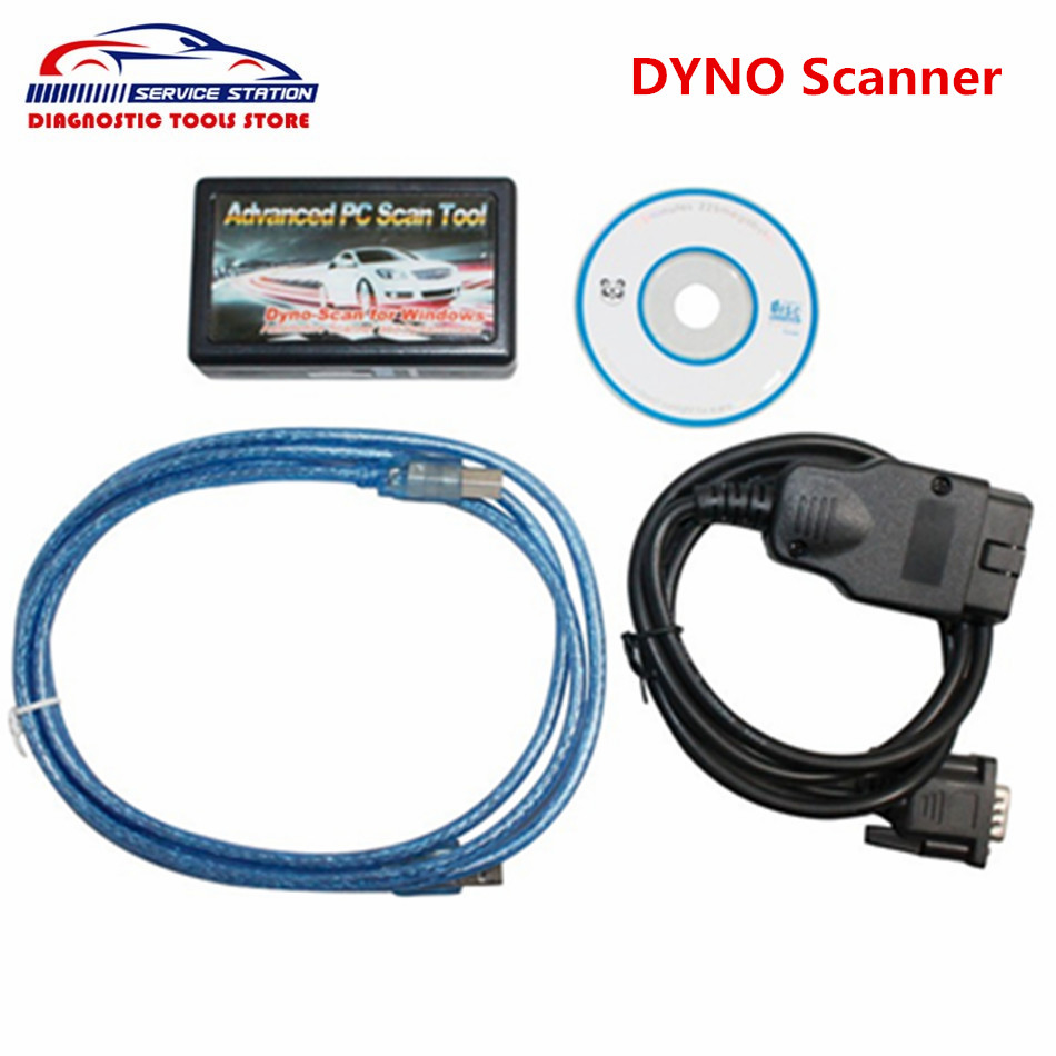 Best Price Dyno scanner Dyno-Scanner Dynamometer Windows Automotive Scanner Professional Advanced PC Scan Tool
