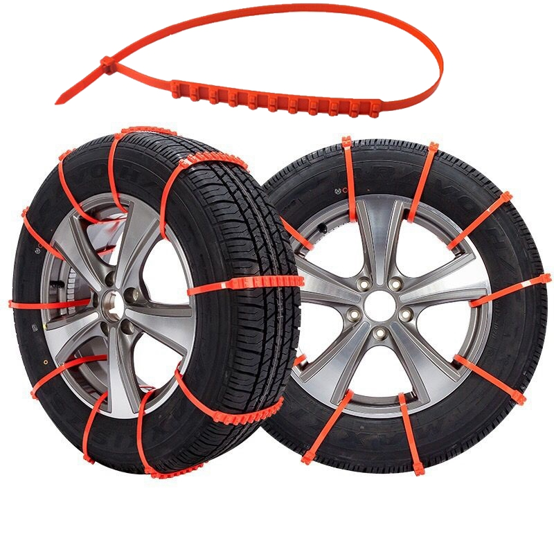 10/20pcs 2nd Generation Car Universal Anti Skid Snow Chains Nylon For Car Truck Snow Mud Wheel Tyre Tire Cable Ties