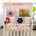 20 styles Baby bed hanging storage bag nappy bag crib organizer 60*55cm diaper storage bag toy pocket for baby crib bedding set