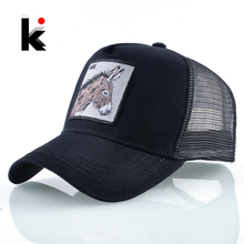 New Baseball Caps For Men Women Fashion Farm Animals Embroidery Snapback Hip Hop
