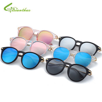 233f82b4d7 2019 niños remache clásico TAC polarizado gafas de sol TR90 de seguridad  Flexible marco niño chica diseño de marca gafas niños gafas de sol