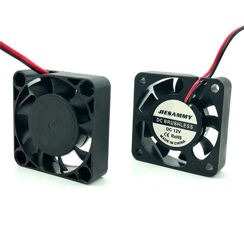 Вентилятор 40 мм бесшумный 12 В 24 В 5 в USB втулка/2 ШАРИКОПОДШИПНИКА 40 мм x 10 мм 4 см DC бесщеточный вентилятор для 3D принтера кулер радиатор мини-вентилятор