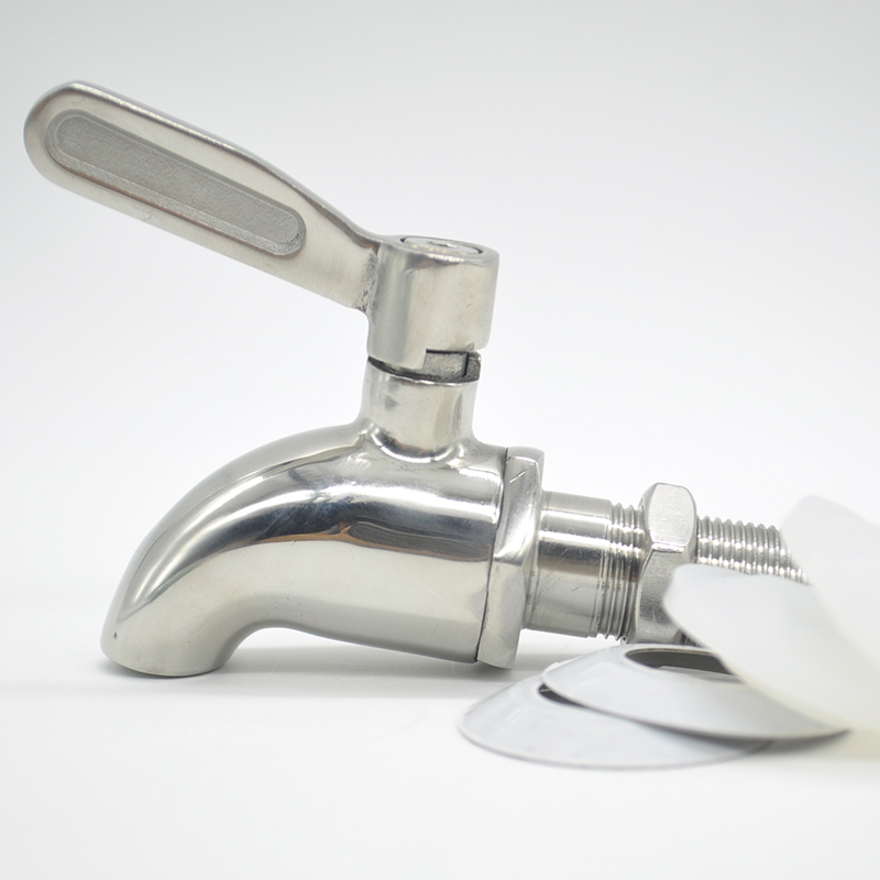16mm 304 Stainless steel Wine Beer Water Spigot Faucet For Wine Oak ...