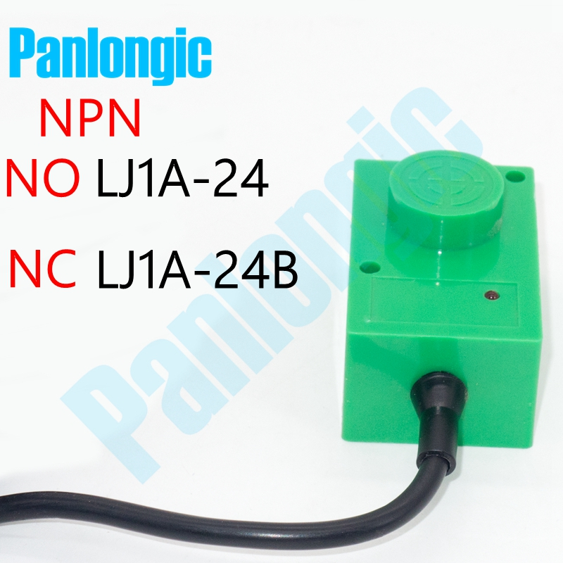 Inductive Proximity Sensor Switch 8mm Detection Distance DC 3-Wire NPN LJ1A-24 Normal Open NO Type LJ1A-24B Normal Close NC Type dc 6 36v 4mm tubular approach sensor inductive proximity detector npn no switch