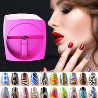 Rose White Portable Nail Printer Machine Euipment For Nails Manicure Nail Art Machine Digital All Intelligent